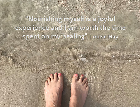 Home. content-feet-sand-quote